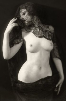 vintage black lace