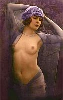 vintage postcard beauty